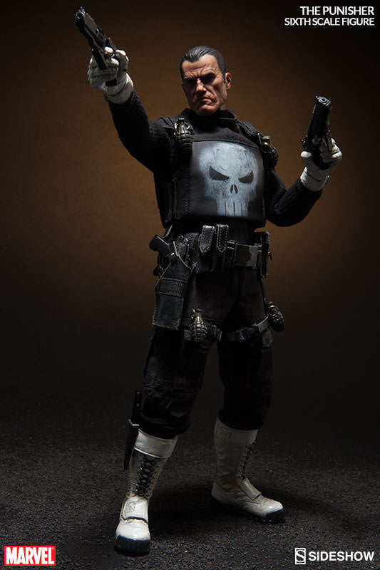 The Punisher 1/6th Scale Action Figure by Sideshow Collectibles-Sideshow Collectibles- www.superherotoystore.com-Action Figure - 7