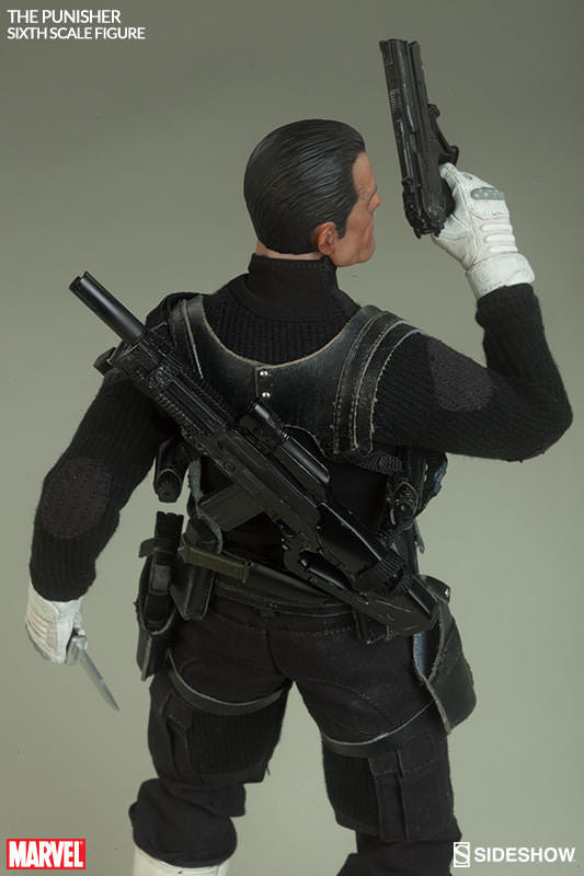 The Punisher 1/6th Scale Action Figure by Sideshow Collectibles-Sideshow Collectibles- www.superherotoystore.com-Action Figure - 9