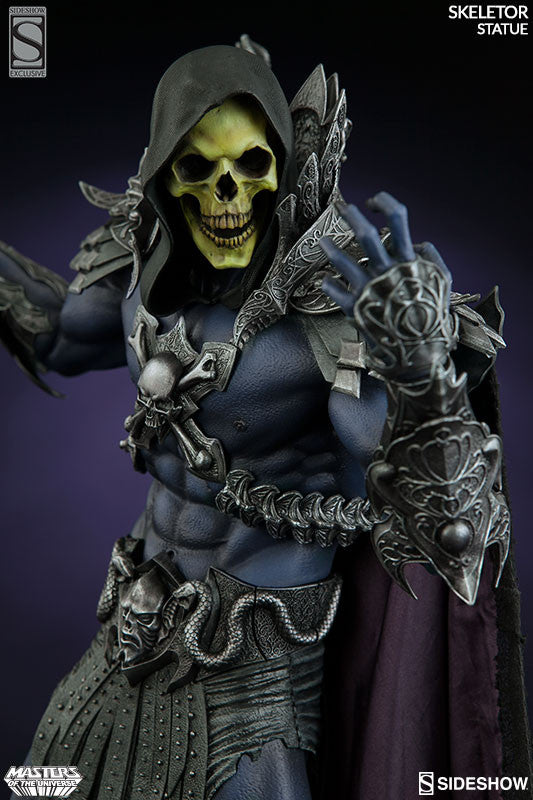 Masters of the Universe Skeletor 1/5th Scale Premium Format Figure by Sideshow Collectibles-Sideshow Collectibles- www.superherotoystore.com-Statue - 2
