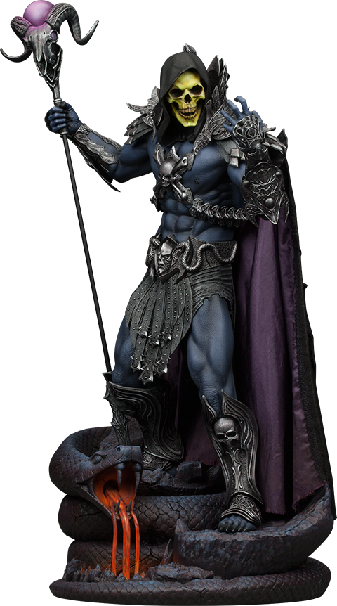 Masters of the Universe Skeletor 1/5th Scale Premium Format Figure by Sideshow Collectibles-Sideshow Collectibles- www.superherotoystore.com-Statue - 1