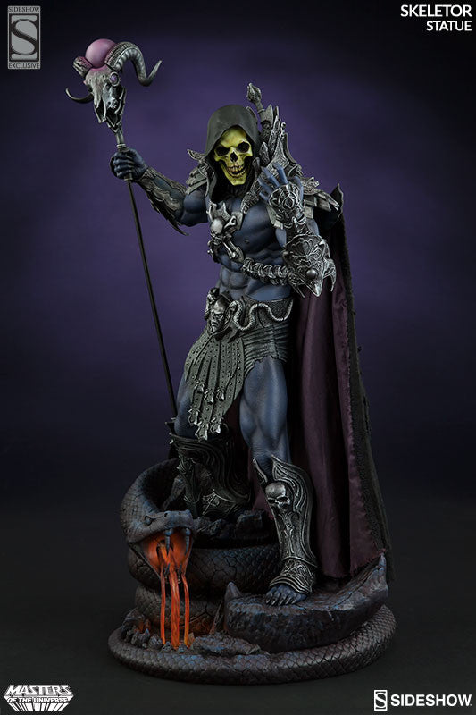 Masters of the Universe Skeletor 1/5th Scale Premium Format Figure by Sideshow Collectibles-Sideshow Collectibles- www.superherotoystore.com-Statue - 3