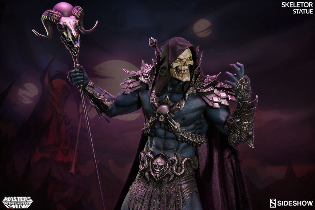 Masters of the Universe Skeletor 1/5th Scale Premium Format Figure by Sideshow Collectibles-Sideshow Collectibles- www.superherotoystore.com-Statue - 7