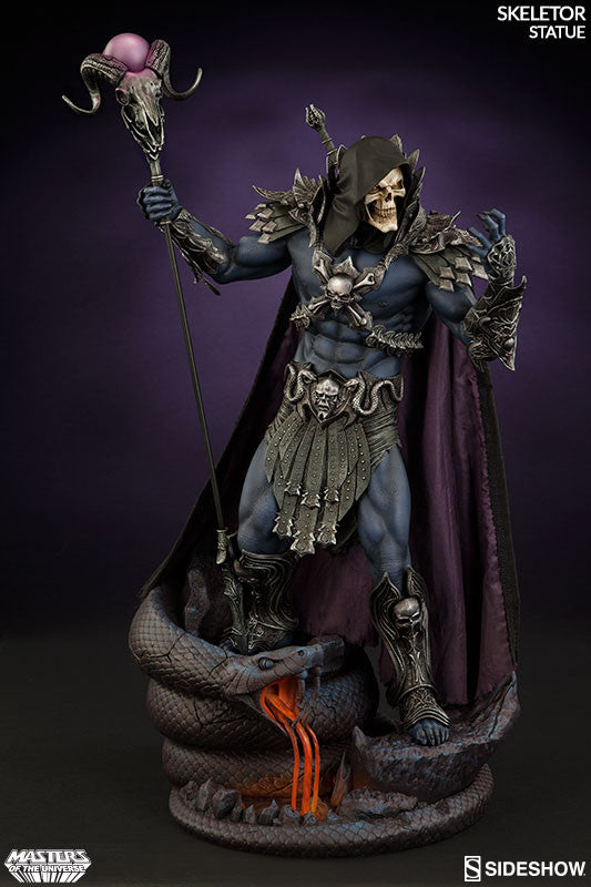 Masters of the Universe Skeletor 1/5th Scale Premium Format Figure by Sideshow Collectibles-Sideshow Collectibles- www.superherotoystore.com-Statue - 4
