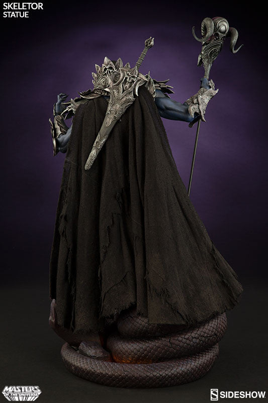 Masters of the Universe Skeletor 1/5th Scale Premium Format Figure by Sideshow Collectibles-Sideshow Collectibles- www.superherotoystore.com-Statue - 6