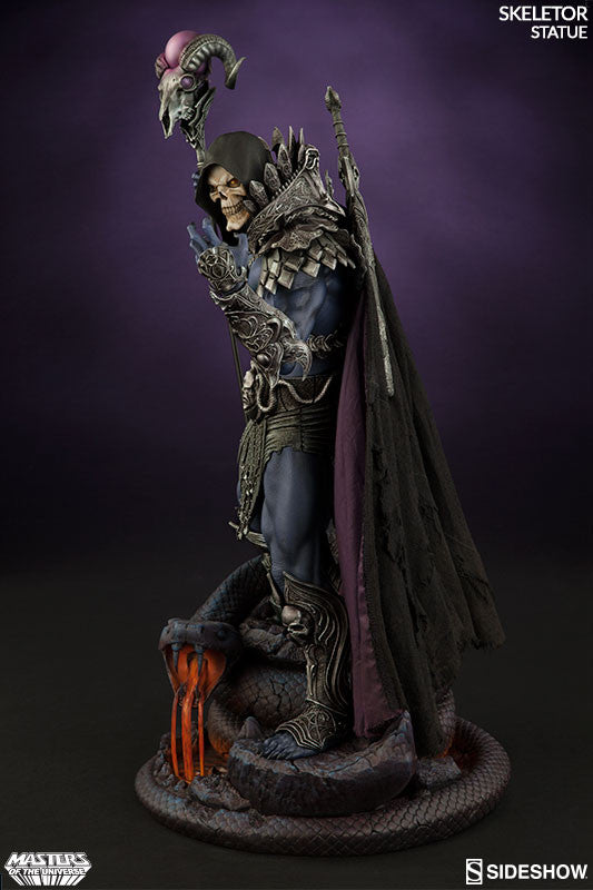 Masters of the Universe Skeletor 1/5th Scale Premium Format Figure by Sideshow Collectibles-Sideshow Collectibles- www.superherotoystore.com-Statue - 5