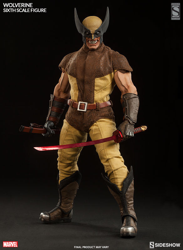 Wolverine 1/6th Action Figure by Sideshow Collectibles ...