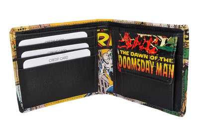 Silver Surfer Bi-Fold Wallet by Bombay Merch -Bombaymerch - India - www.superherotoystore.com