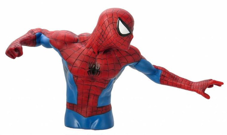 Spiderman Bust Bank-Monogram International- www.superherotoystore.com-Bust Bank