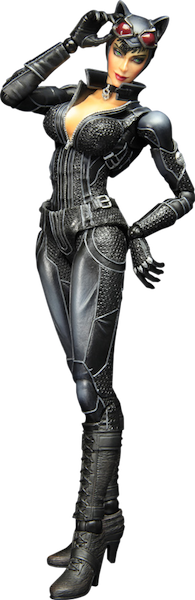 Batman Arkham City - Play Arts Kai Catwoman-Square Enix- www.superherotoystore.com-Action Figure - 1
