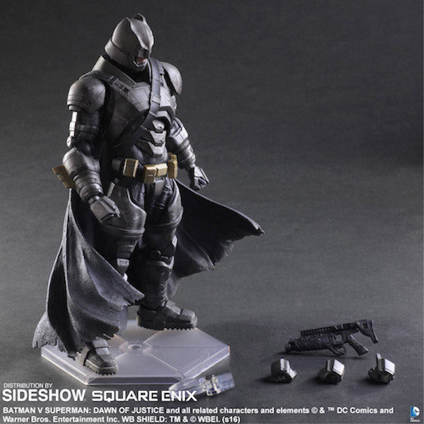 Dawn of Justice Armored Batman Play Arts Kai by Square Enix-Square Enix- www.superherotoystore.com-Action Figure - 9