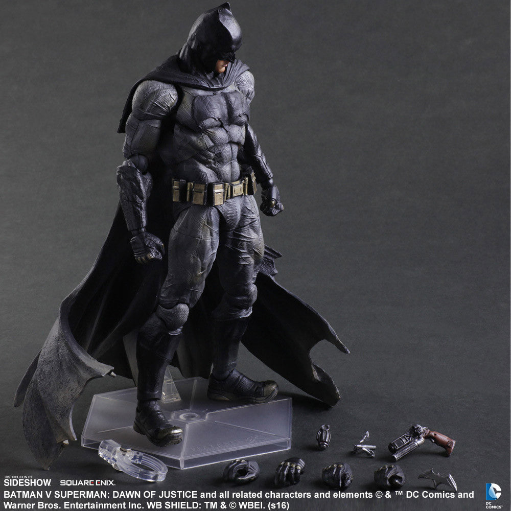 Dawn of Justice Batman Play Arts Kai by Square Enix-Square Enix- www.superherotoystore.com-Action Figure - 8
