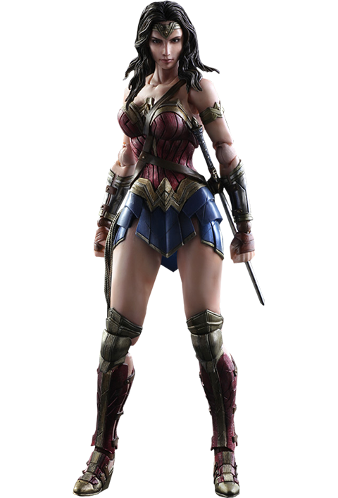 Dawn of Justice Wonder Woman Play Arts Kai Figure-Square Enix- www.superherotoystore.com-Action Figure - 1