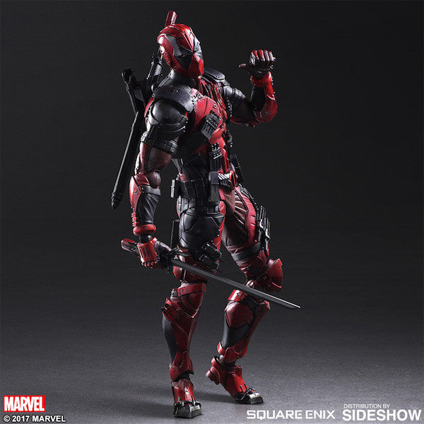 Marvel Comics Variant: Deadpool Play Arts Kai Figure by Square Enix-Square Enix- www.superherotoystore.com-Action Figure - 1
