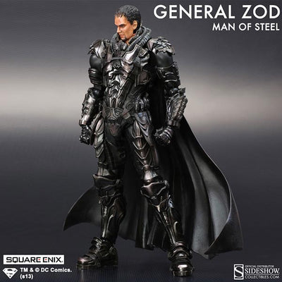 Man of Steel Play Arts Kai General Zod Figure by Square Enix-Square Enix- www.superherotoystore.com-Action Figure - 2