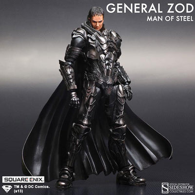 Man of Steel Play Arts Kai General Zod Figure by Square Enix-Square Enix- www.superherotoystore.com-Action Figure - 3