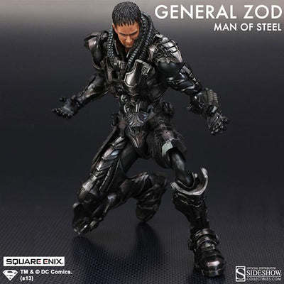 Man of Steel Play Arts Kai General Zod Figure by Square Enix-Square Enix- www.superherotoystore.com-Action Figure - 4