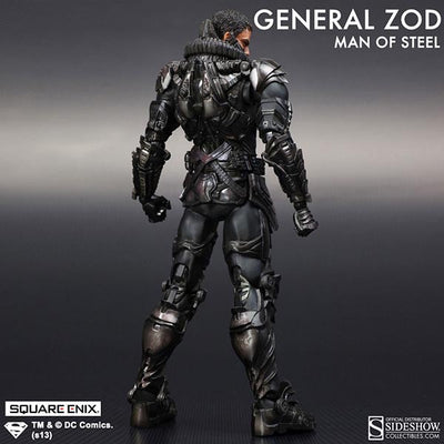 Man of Steel Play Arts Kai General Zod Figure by Square Enix-Square Enix- www.superherotoystore.com-Action Figure - 5