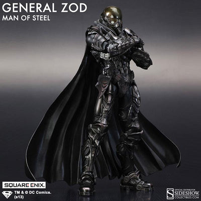 Man of Steel Play Arts Kai General Zod Figure by Square Enix-Square Enix- www.superherotoystore.com-Action Figure - 6