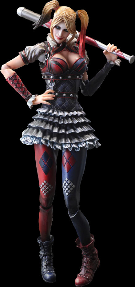 Dc Comics Arkham Knight Harley Quinn by Square Enix-Square Enix- www.superherotoystore.com-Action Figure - 1