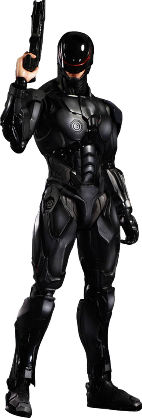 Robocop Play Arts Kai RoboCop Version 3.0-Square Enix- www.superherotoystore.com-Action Figure - 1
