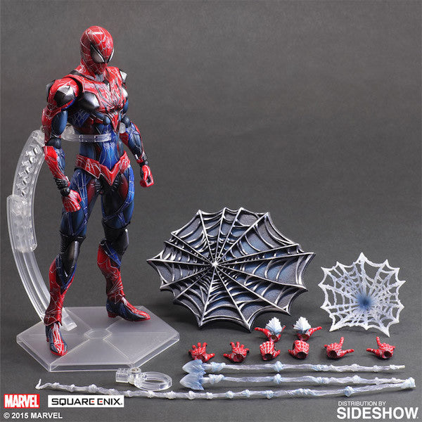 Marvel Comics Variant: Spiderman Play Arts Kai Figure by Square Enix-Square Enix- www.superherotoystore.com-Action Figure - 11