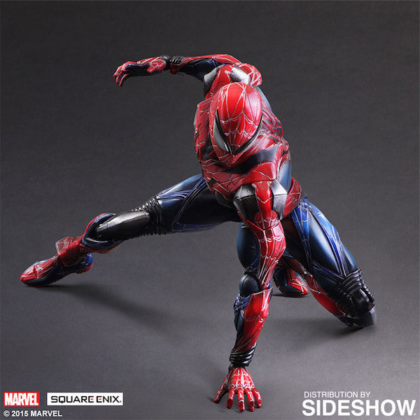 Marvel Comics Variant: Spiderman Play Arts Kai Figure by Square Enix-Square Enix- www.superherotoystore.com-Action Figure - 5