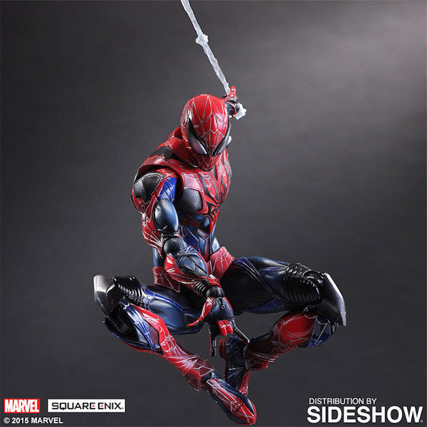 Marvel Comics Variant: Spiderman Play Arts Kai Figure by Square Enix-Square Enix- www.superherotoystore.com-Action Figure - 6