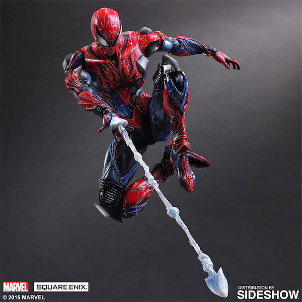 Marvel Comics Variant: Spiderman Play Arts Kai Figure by Square Enix-Square Enix- www.superherotoystore.com-Action Figure - 7