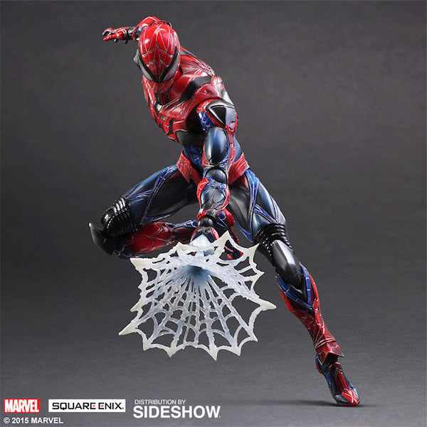 Marvel Comics Variant: Spiderman Play Arts Kai Figure by Square Enix-Square Enix- www.superherotoystore.com-Action Figure - 8