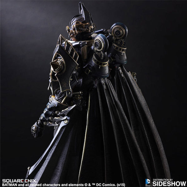 Batman Timeless Steampunk Play Arts Kai Figure by Square Enix-Square Enix- www.superherotoystore.com-Action Figure - 3