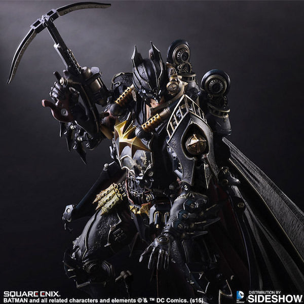 Batman Timeless Steampunk Play Arts Kai Figure by Square Enix-Square Enix- www.superherotoystore.com-Action Figure - 5