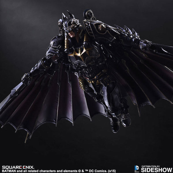 Batman Timeless Steampunk Play Arts Kai Figure by Square Enix-Square Enix- www.superherotoystore.com-Action Figure - 6