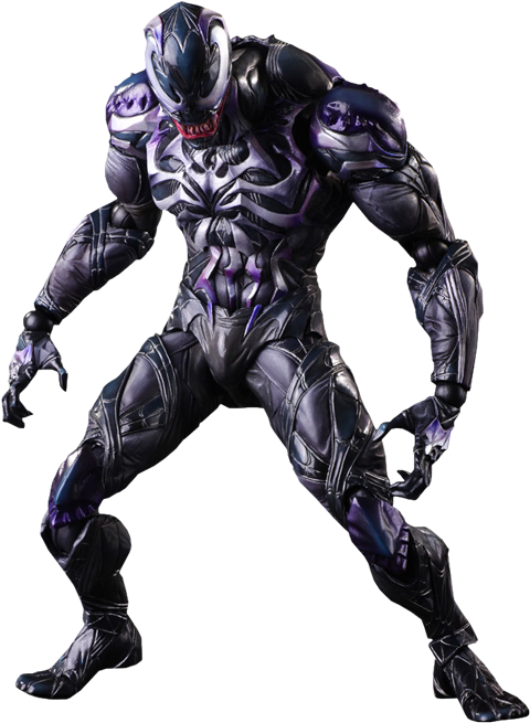 Marvel Variant Venom Play Arts Kai Figure by Square Enix-Square Enix- www.superherotoystore.com-Action Figure - 1
