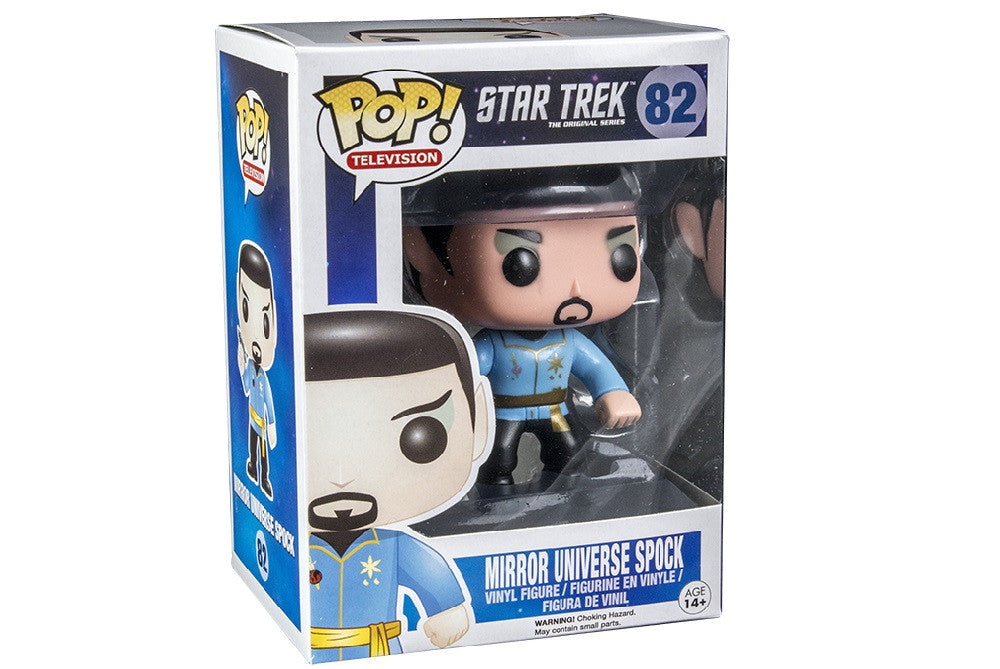 Star Trek - Mirror Spock POP-Funko- www.superherotoystore.com-Bobble Heads - 2