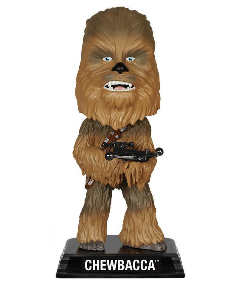 Star Wars - Chewbacca Wacky Wobbler by Funko-Funko- www.superherotoystore.com-Bobble Heads - 1