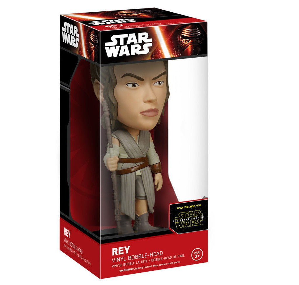 Star Wars Rey - Episode 7 -Wacky Wobbler-Funko- www.superherotoystore.com-Bobble Heads - 2