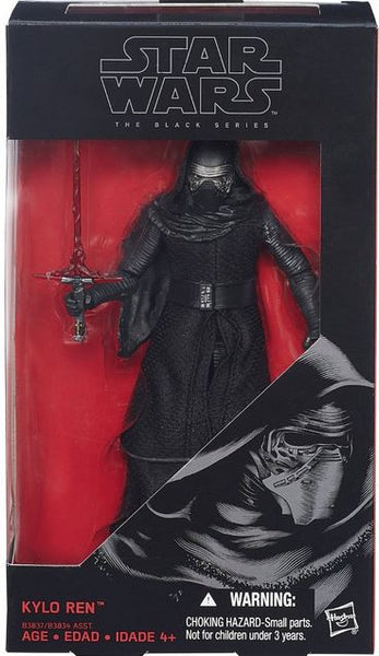 Star Wars Figures - Ep VII The Force Awakens - 6 Black Series Kylo Ren-Hasbro- www.superherotoystore.com-Action Figure - 1