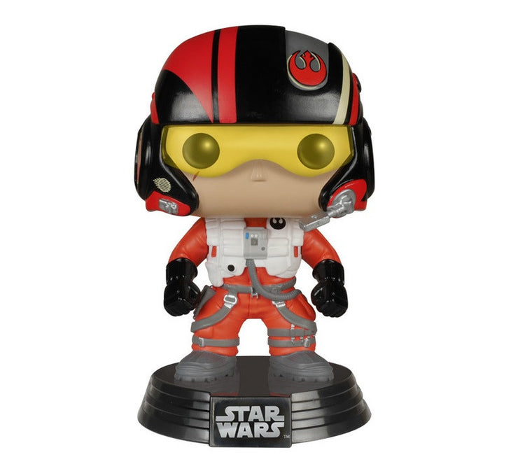 Star Wars Poe Dameron POP!-Funko- www.superherotoystore.com-Bobble Heads - 1