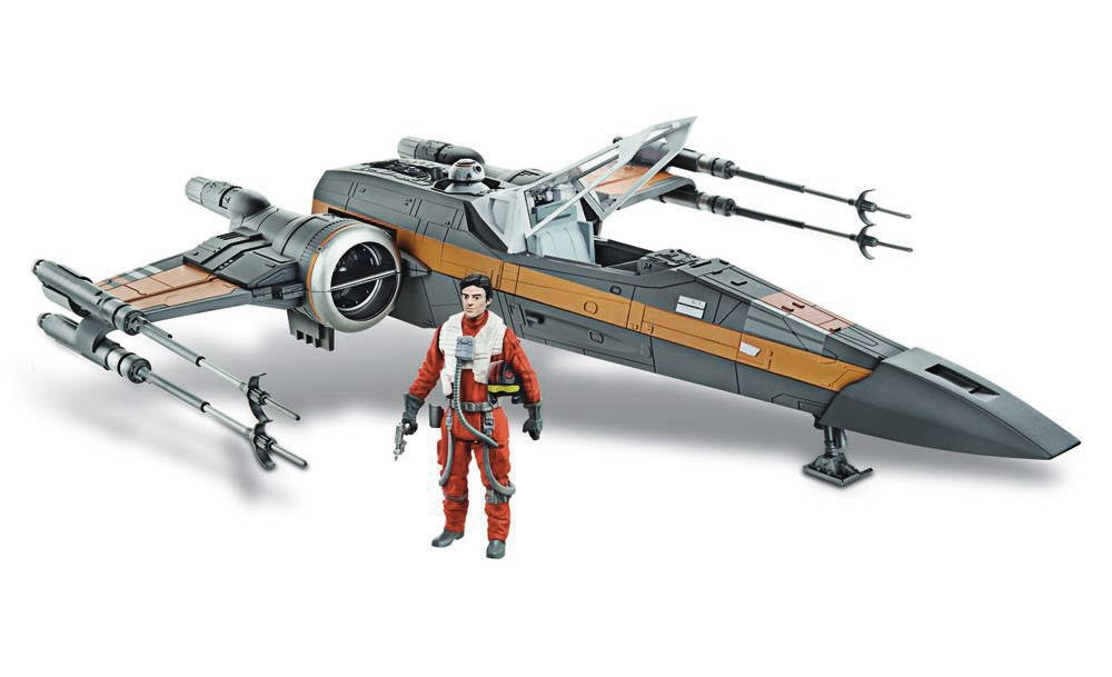 Star Wars The Force Awakens Class III Deluxe Resistance X-Wing Fighter Vehicle-Hasbro- www.superherotoystore.com-Action Figure - 1