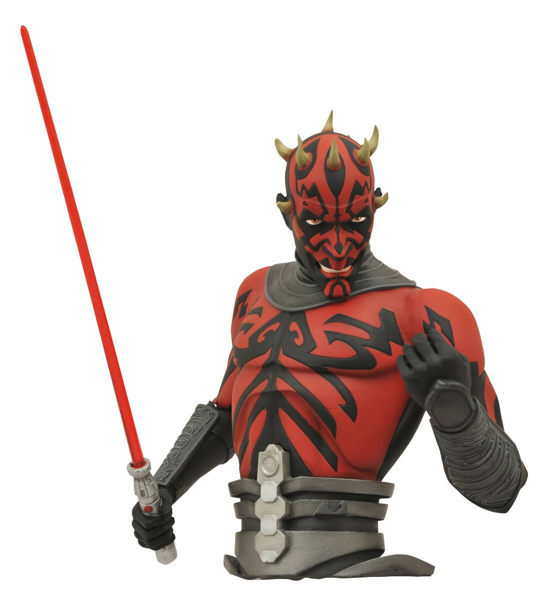 Star wars Clone wars Darth Maul Bust Bank-Diamond Select toys- www.superherotoystore.com-Bust Bank