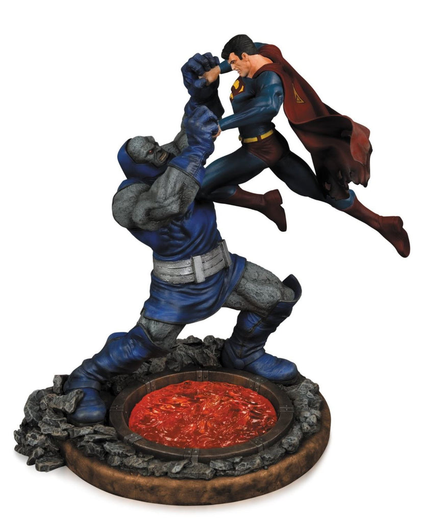 Superman Vs Darkseid 2nd Edition Statue-DC Collectibles- www.superherotoystore.com-Statue - 1