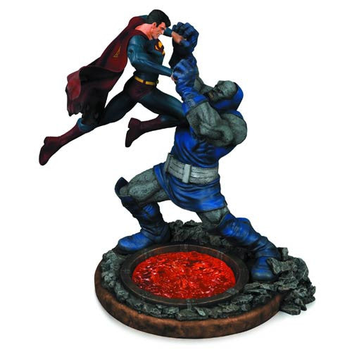 Superman Vs Darkseid 2nd Edition Statue-DC Collectibles- www.superherotoystore.com-Statue - 2