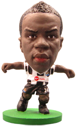 Cheick Tioté - Newcastle United Home Kit-Soccer Starz- www.superherotoystore.com-Action Figure - 1