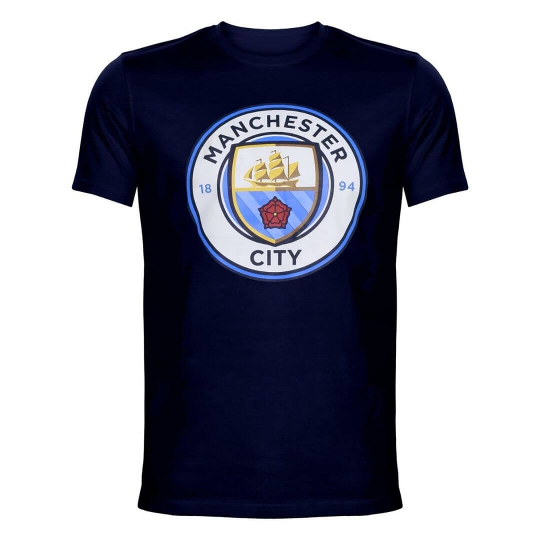 Manchester City Official Logo T-Shirt -The Arena - India - www.superherotoystore.com