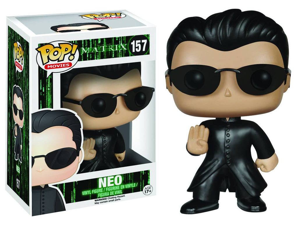 The Matrix Neo Pop! Vinyl Figure by Funko-Funko- www.superherotoystore.com-Bobble Heads - 2