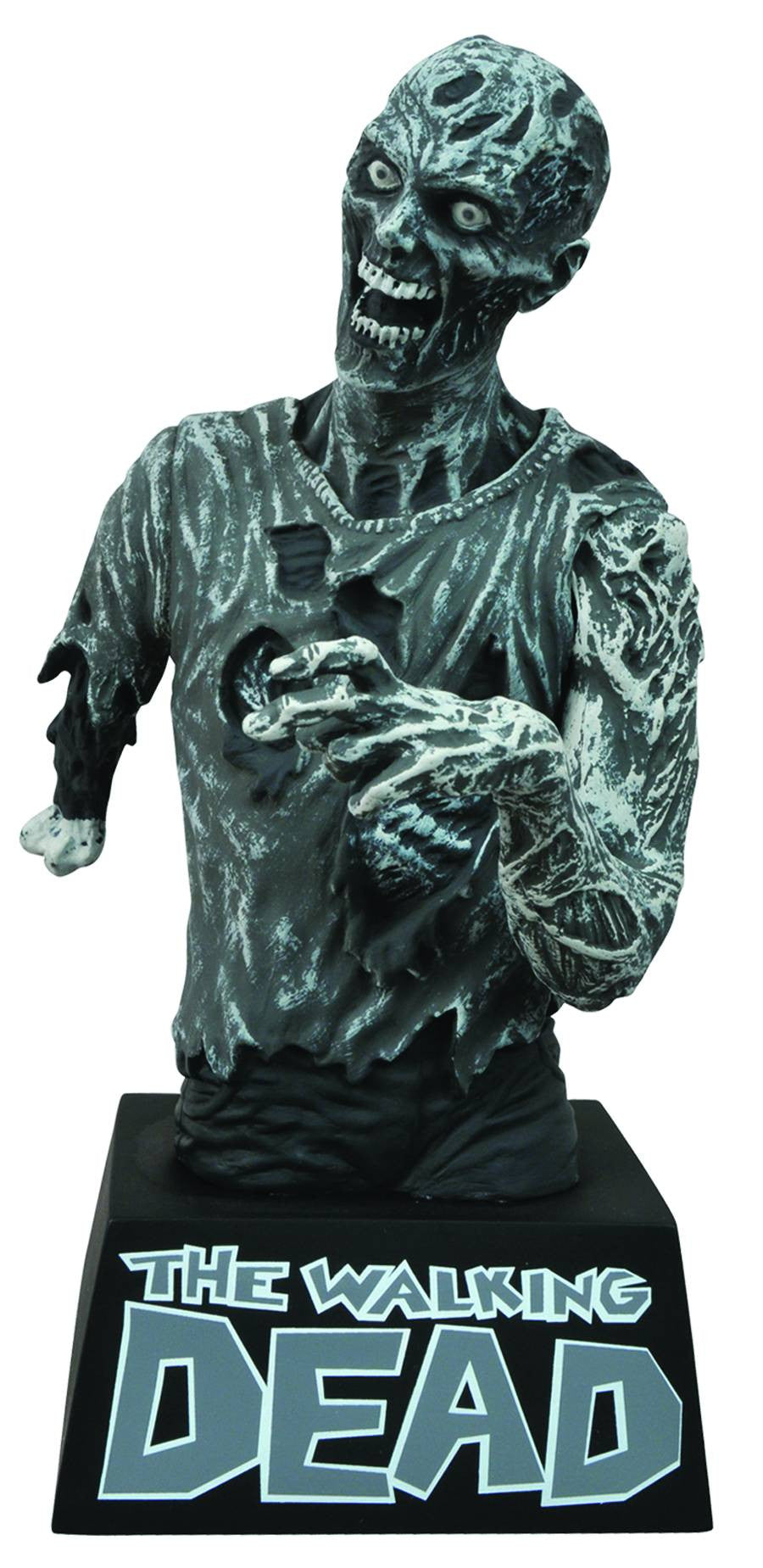 The Walking Dead Bust Bank Zombie-Diamond Select toys- www.superherotoystore.com-Bust Bank