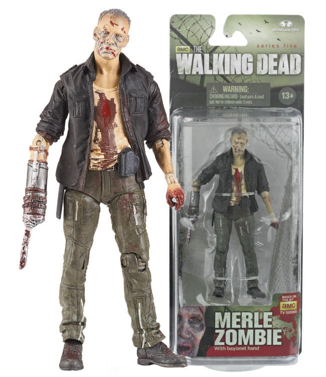 The Walking Dead Series 5 - Merle Walker-McFarlane Toys- www.superherotoystore.com-Action Figure - 2
