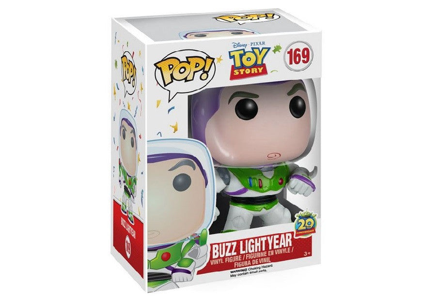 Toy Story 20th Anniversary Buzz Lightyear Pop!-Funko- www.superherotoystore.com-Bobble Heads - 2