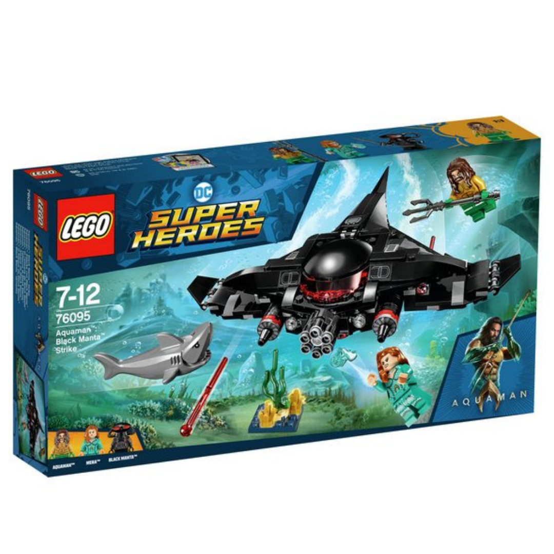 Aquaman Black Manta Strike Set by Lego -Lego - India - www.superherotoystore.com