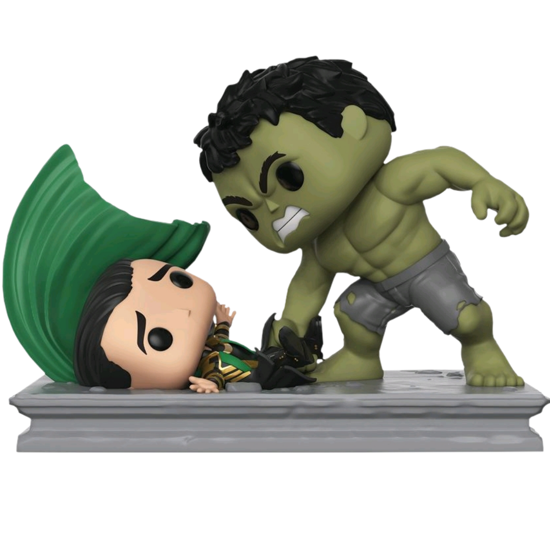 Marvel Studios The First Ten Years Hulk Smashing Loki Vinyl Collectible Figure by Funko